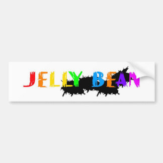 Jelly Bean logo Bumper Sticker