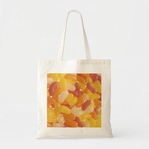 Jelly bean shopping bag