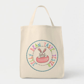 Jelly Bean Taste Tester Canvas Bag