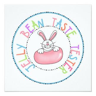 Jelly Bean Taste Tester Invitations