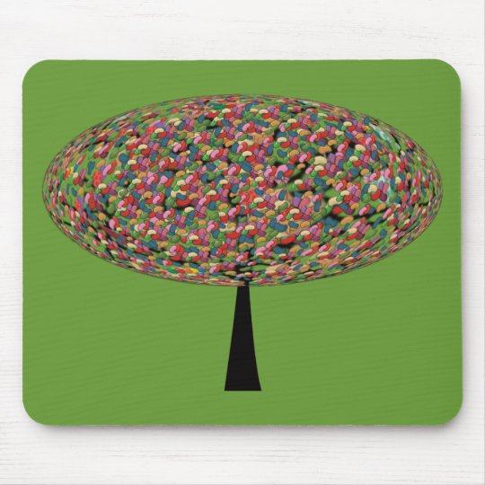 Jelly Bean Tree Mouse Mat