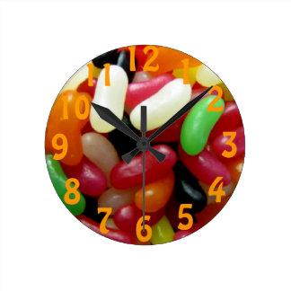Jelly Bean Wall Clock