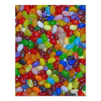 Jelly Beans 11 Cm X 14 Cm Invitation Card