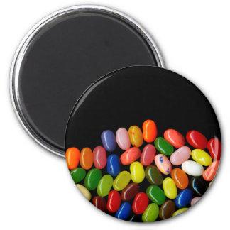 Jelly Beans 6 Cm Round Magnet