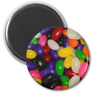Jelly Beans 6 Cm Round Magnet