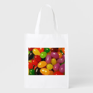 Jelly Beans and Easter Reusable Grocery Bag