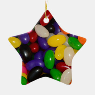 Jelly Beans Ceramic Star Decoration