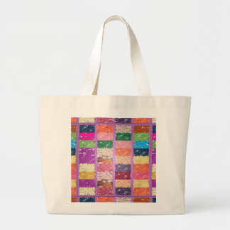 JELLY BEANS Checkered Artistic Graphic Sweets Bags