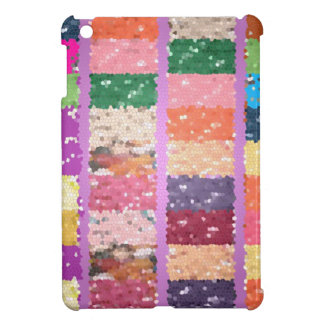 JELLY BEANS Checkered Artistic Graphic Sweets iPad Mini Case