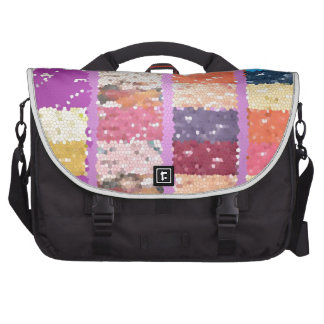 JELLY BEANS Checkered Artistic Graphic Sweets Bags For Laptop