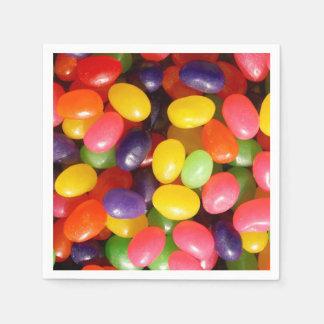 Jelly beans disposable serviette