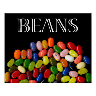 Jelly Beans Fine Art Print/Poster Poster