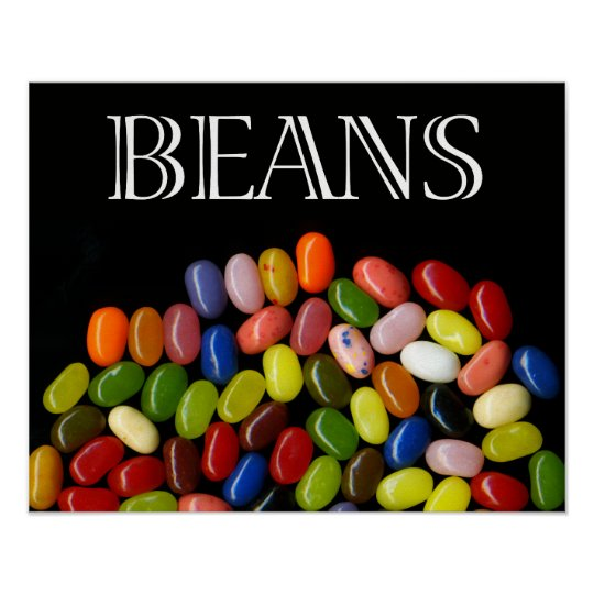 Jelly Beans Fine Art Print/Poster Poster