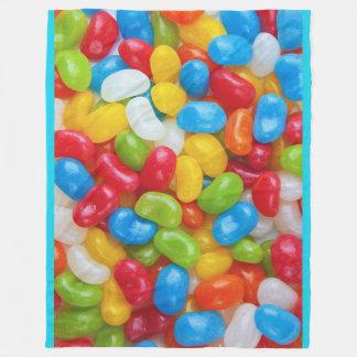 Jelly Beans Fleece Blanket