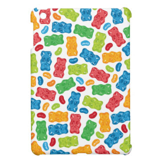 Jelly Beans & Gummy Bears Pattern iPad Mini Cover