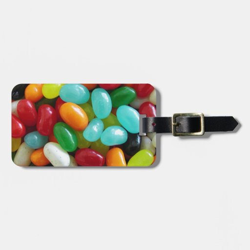 Jelly Beans Travel Bag Tag