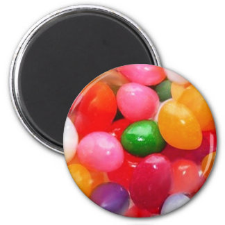 jelly_beans 6 cm round magnet