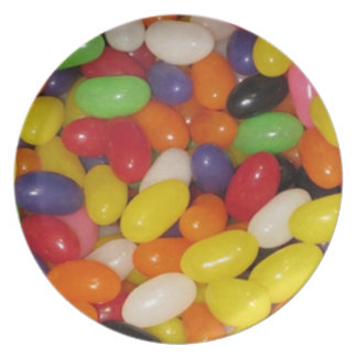 Jelly Beans Plate