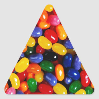 Jelly Beans Triangle Sticker