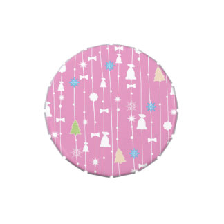 Jelly Belly™ Small Tin with Pastel Polka Dots Candy Tin