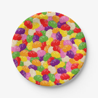 Jelly Brains 7 Inch Paper Plate