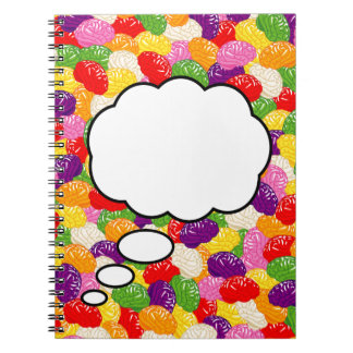 Jelly Brains Brainstorming Notebook