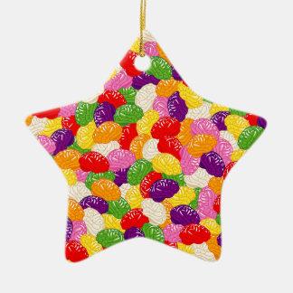 Jelly Brains Ceramic Star Decoration