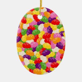 Jelly Brains Christmas Ornament