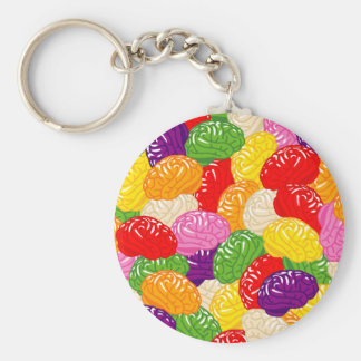 Jelly Brains Key Ring
