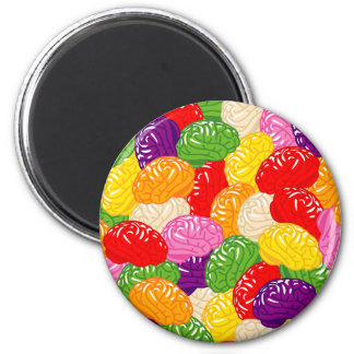 Jelly Brains Magnet