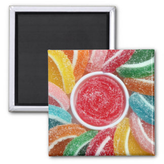 jelly candies magnet