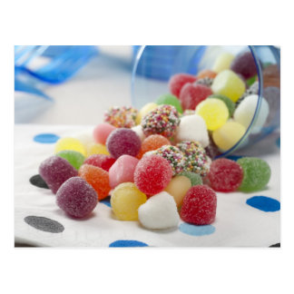 Jelly Candies Postcard
