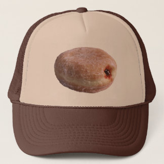 Jelly Filled Donut Trucker Hat