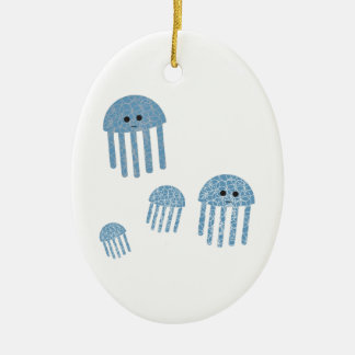 Jelly Fish Christmas Ornament