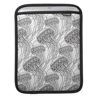 Jelly Fish Doodle iPad Sleeve