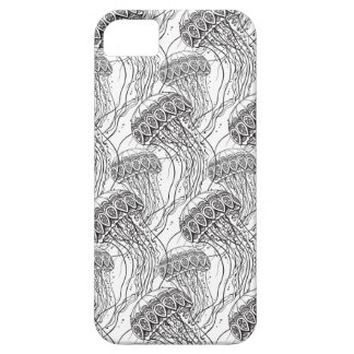 Jelly Fish Doodle iPhone 5 Covers