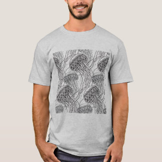 Jelly Fish Doodle T-Shirt