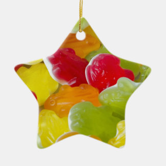 jelly frogs christmas ornament