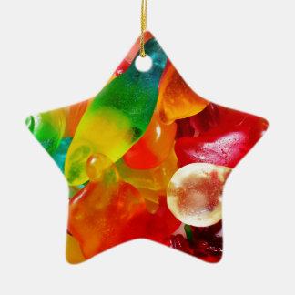 jelly gum ceramic star decoration