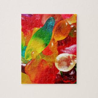 jelly gum jigsaw puzzle