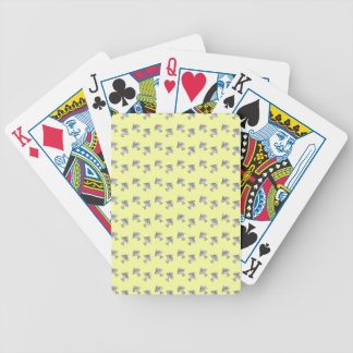 jelly on a plate bicycle playing cards
