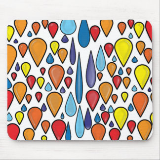 Jelly Rain Mouse Pad