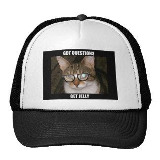 Jelly the Advice Kitty Cap