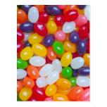 Jellybean Template - Easter Jellybeans Postcard
