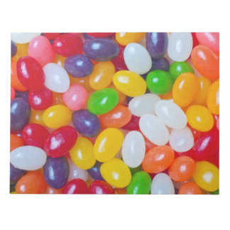 Jellybeans Background - Easter Jelly Beans Notepad