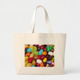 Jellybeans sweet treat large tote bag