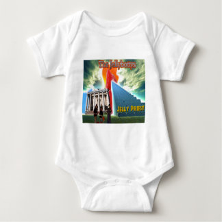 Jellybottys Jelly Priest Song Stairway To Heaven Baby Bodysuit