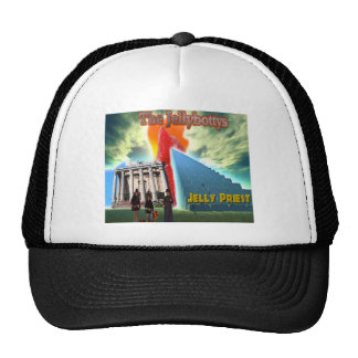 Jellybottys Jelly Priest Song Stairway To Heaven Trucker Hats