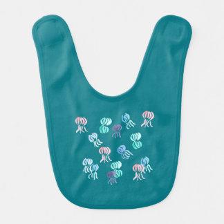 Jellyfish Baby Bib