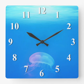 Jellyfish Blue Light Clocks
